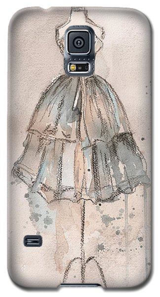Strapless Champagne Dress Galaxy S5 Case by Lauren Maurer