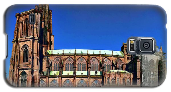 Strasbourg Catheral Galaxy S5 Case by Alan Toepfer