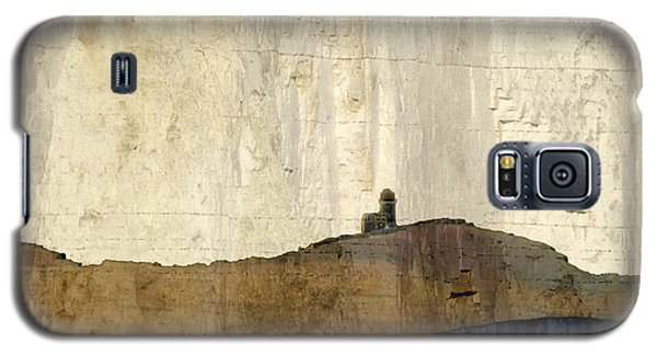 Strata With Lighthouse And Gull Galaxy S5 Case by LemonArt Photography