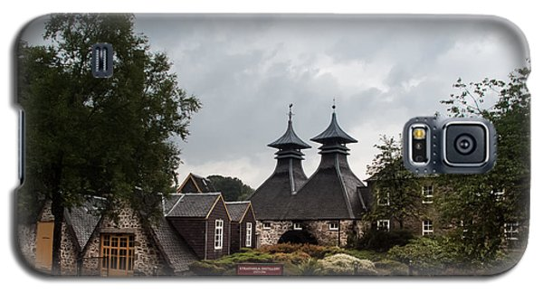 Galaxy S5 Case featuring the photograph Strathisla Whisky Distillery Scotland #3 by Jan Bickerton