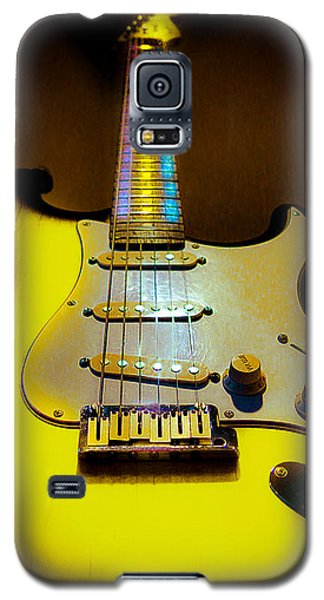 Stratocaster Lemon Burst Glow Neck Series Galaxy S5 Case