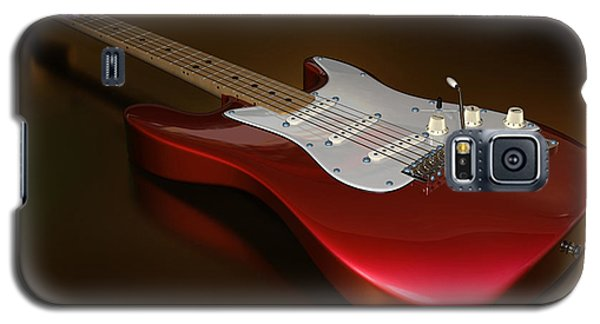 Stratocaster On A Golden Floor Galaxy S5 Case