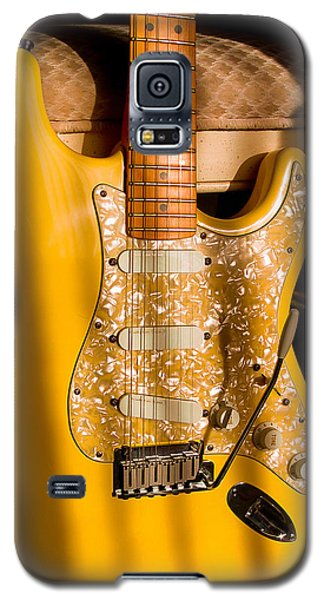 Stratocaster Plus In Graffiti Yellow Galaxy S5 Case