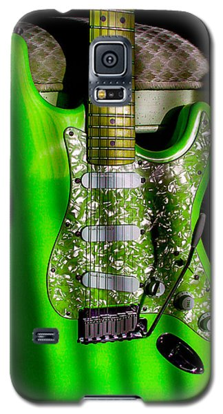 Stratocaster Plus In Green Galaxy S5 Case