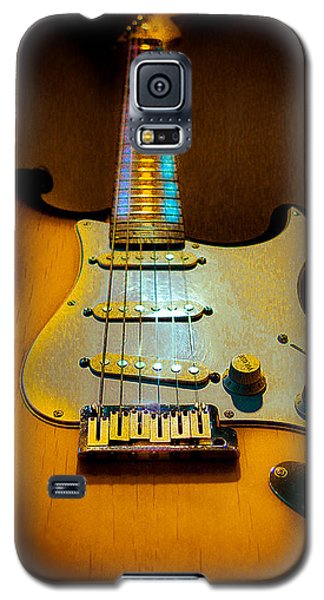 Stratocaster Tobacco Burst Glow Neck Series  Galaxy S5 Case