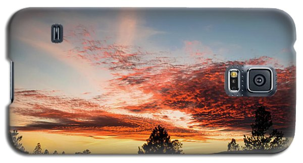 Stratocumulus Sunset Galaxy S5 Case
