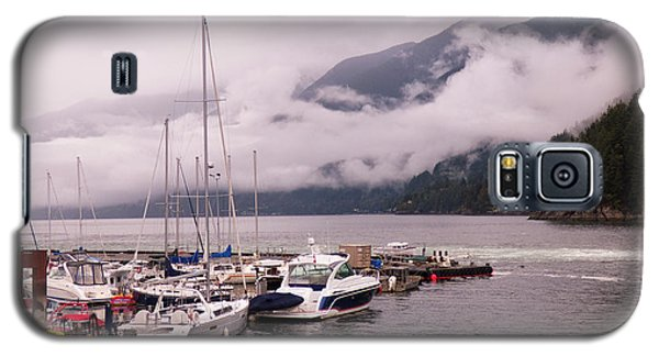 Stratus Clouds Over Horseshoe Bay Galaxy S5 Case