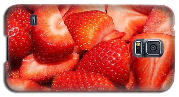 Strawberries 32 Galaxy S5 Case