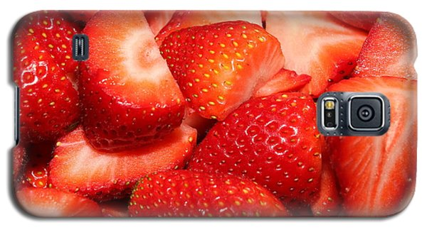 Strawberries 32 Galaxy S5 Case