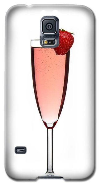 Strawberry Champagne Galaxy S5 Case by Gert Lavsen