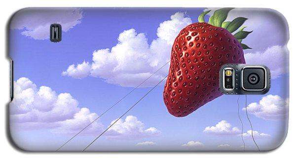 Strawberry Field Galaxy S5 Case by Jerry LoFaro