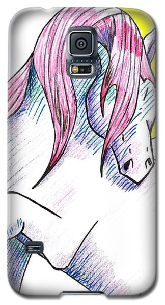 Strawberry Horse Galaxy S5 Case