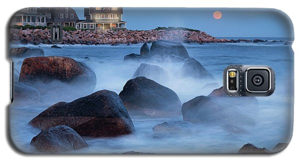 Strawberry Moon At Spray Rock Galaxy S5 Case