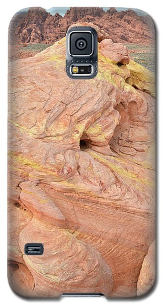 Galaxy S5 Case featuring the photograph Strawberry Swirl In North Valley Of Fire by Ray Mathis