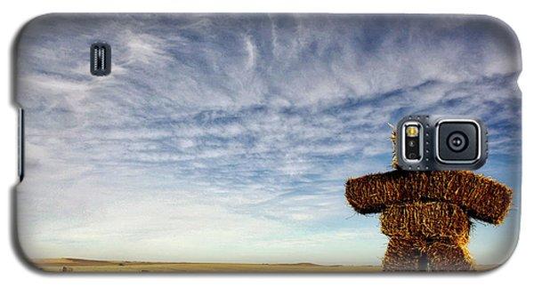Strawman On The Prairies Galaxy S5 Case