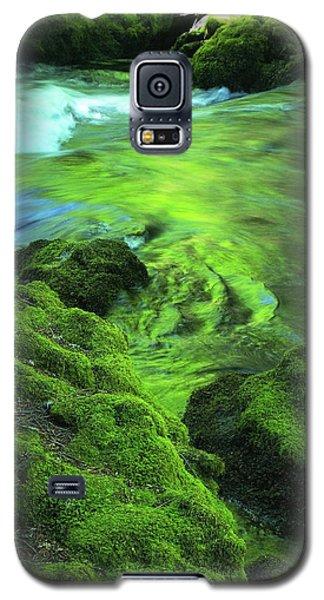 Stream Above Whitehorse Falls Galaxy S5 Case