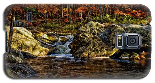 Stream In Autumn 57 In Oil Galaxy S5 Case