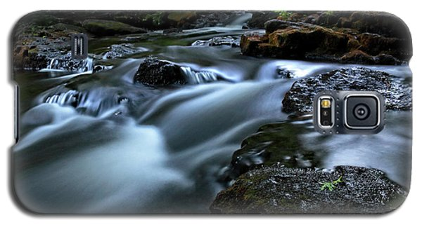 Stream Over Rocks Galaxy S5 Case by Charline Xia