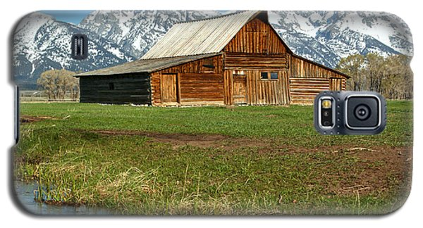 Streaming By The Moulton Barn Galaxy S5 Case by Adam Jewell