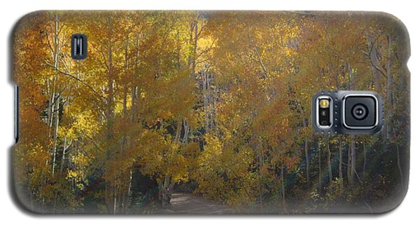 Galaxy S5 Case featuring the photograph Streaming Light Paiute Trail Fremont Utah by Deborah Moen