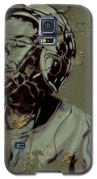 Wheat Paste Art Abstract  Galaxy S5 Case by Sheila Mcdonald