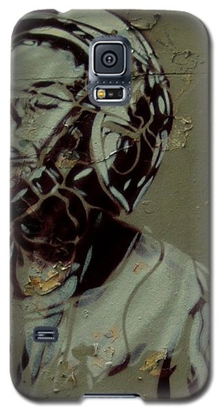 Galaxy S5 Case featuring the painting Street Art by Sheila Mcdonald