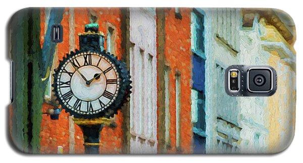Street Clock In Cork Galaxy S5 Case
