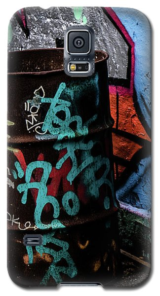 Galaxy S5 Case featuring the photograph Street Gallery by Odd Jeppesen