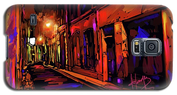 Street In Avignon, France Galaxy S5 Case