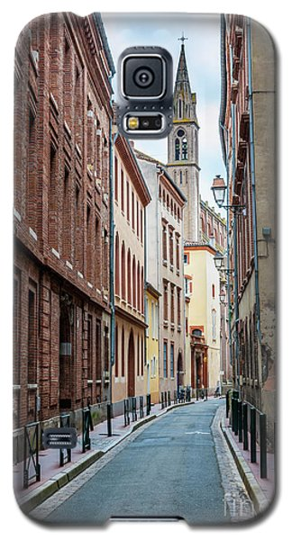 Galaxy S5 Case featuring the photograph Street In Toulouse by Elena Elisseeva