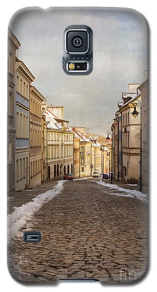 Galaxy S5 Case featuring the photograph Street In Warsaw, Poland by Juli Scalzi