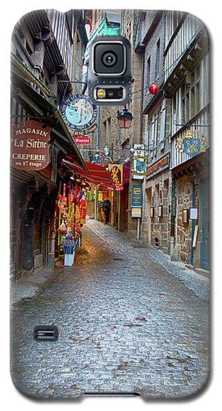 Street Le Mont Saint Michel Galaxy S5 Case