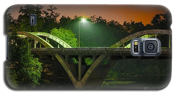 Street Light On Rogue River Bridge Galaxy S5 Case