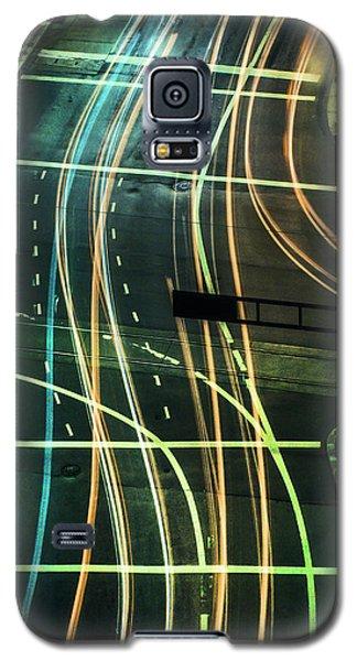 Street Lights Galaxy S5 Case by Scott Meyer