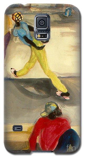 Street Scene Galaxy S5 Case by Daun Soden-Greene