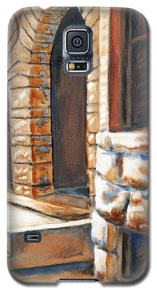 Street Scene Oil Painting Galaxy S5 Case