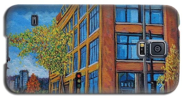 Street Study Montreal Galaxy S5 Case