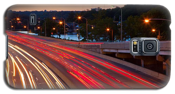 Street Trails Galaxy S5 Case by Matthew Bamberg