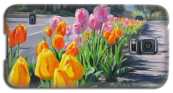 Street Tulips Galaxy S5 Case