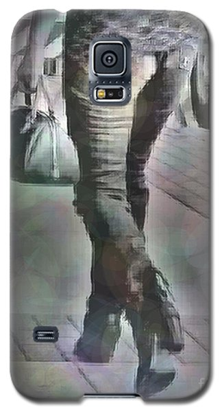 Galaxy S5 Case featuring the photograph Street Walkin' by Lin Haring