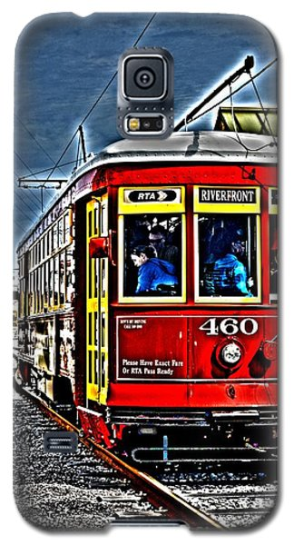 Galaxy S5 Case featuring the photograph Streetcar by Janice Spivey