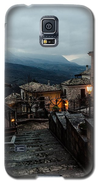 Streets Of Italy - Caramanico 3 Galaxy S5 Case