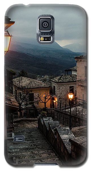 Streets Of Italy - Caramanico Galaxy S5 Case