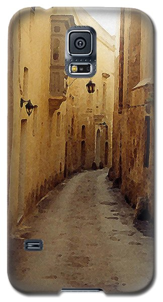 Galaxy S5 Case featuring the photograph Streets Of Malta by Debbie Karnes