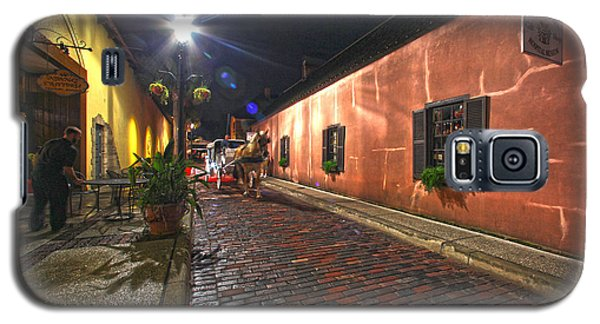 Streets Of St Augustine Galaxy S5 Case