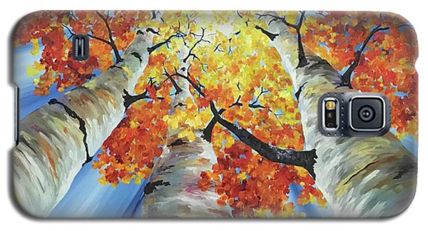 Striking Fall Galaxy S5 Case
