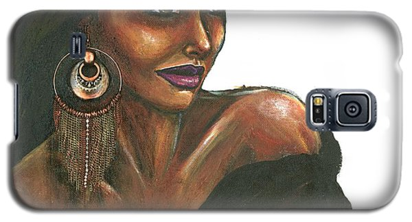 Galaxy S5 Case featuring the painting Striking Too by Alga Washington