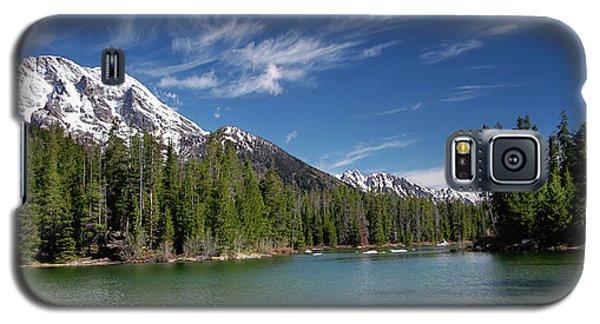String Lake And Mt. Moran Galaxy S5 Case