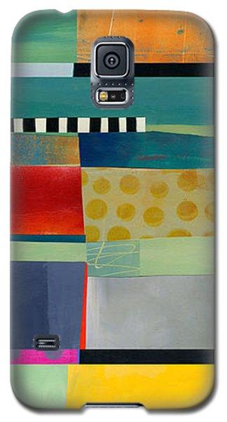 Stripe Assemblage 2 Galaxy S5 Case by Jane Davies