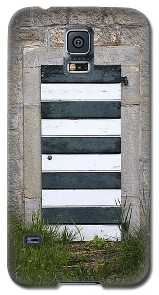 Galaxy S5 Case featuring the photograph Striped Door by Colleen Williams